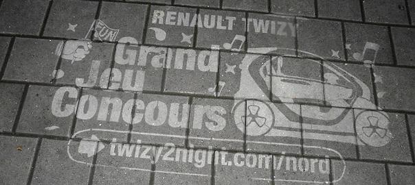 Clean Tag pour Renault Twizy