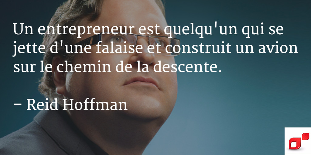 citation reid hoffman entrepreneur